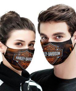 Harley-davidson motor company anti-dust cotton face mask 1