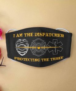 I am the dispatcher protecting the three anti-dust face mask 1