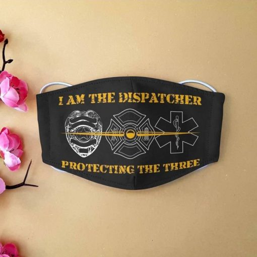 I am the dispatcher protecting the three anti-dust face mask 3