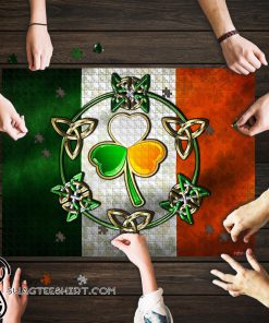 Irish flag st patrick_s day jigsaw puzzle