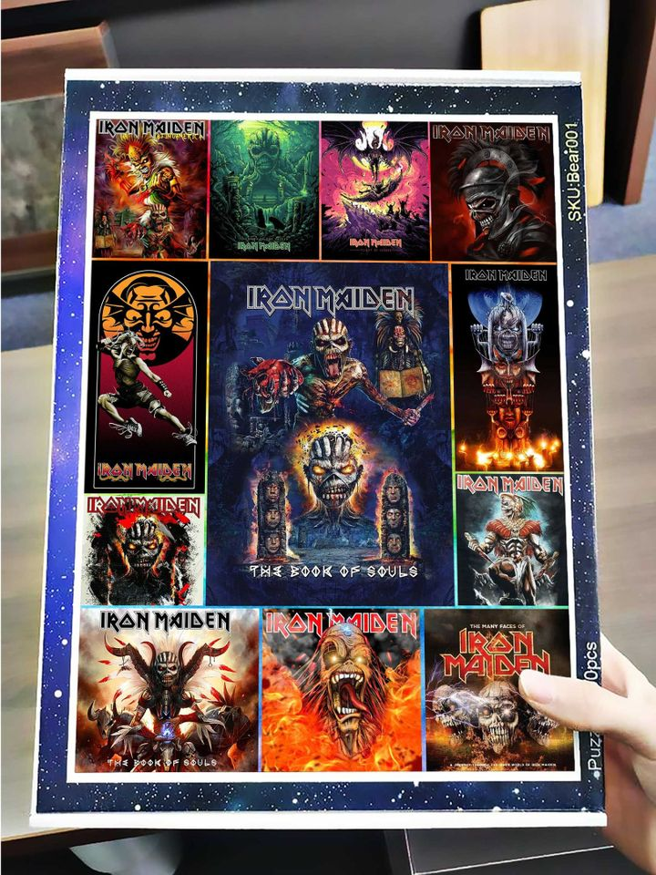 Iron maiden rock band jigsaw puzzle 3
