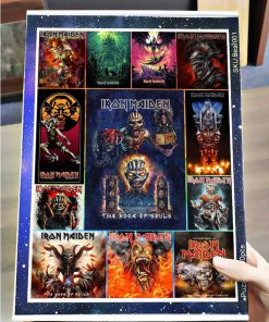 Iron maiden rock band jigsaw puzzle 4