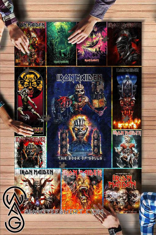 Iron maiden rock band jigsaw puzzle