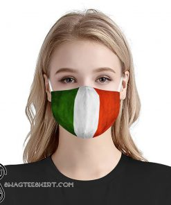 Italy flag anti-dust cotton face mask