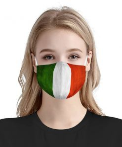 Italy flag anti-dust cotton face mask 3