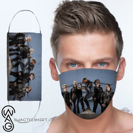 Journey rock band anti-dust cotton face mask