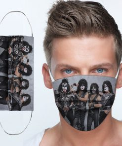 Kiss rock band anti-dust cotton face mask 4