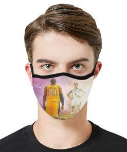 Kobe bryant and gigi daughter anti-dust cotton face mask 1