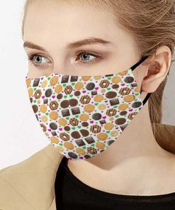 Love cookie girl anti-dust cotton face mask 1