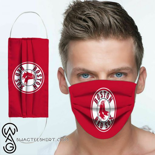 Major league baseball boston red sox team cotton face mask