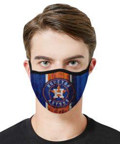 Major league baseball houston astros face mask 2