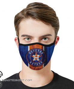 Major league baseball houston astros face mask