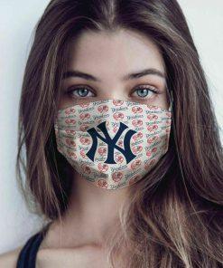Major league baseball new york yankees cotton face mask 1