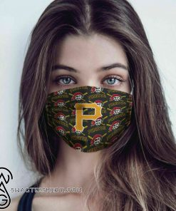 Major league baseball pittsburgh pirates cotton face mask