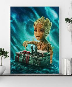 Marvel baby groot button jigsaw puzzle 1