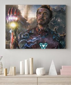 Marvel's avengers endgame i am iron man jigsaw puzzle 2