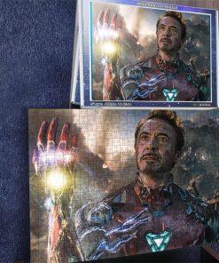 Marvel's avengers endgame i am iron man jigsaw puzzle 3
