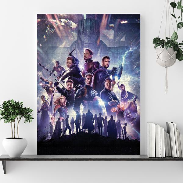 Marvel's avengers infinity war jigsaw puzzle 1