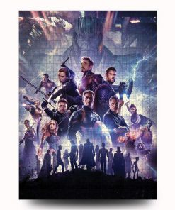 Marvel's avengers infinity war jigsaw puzzle 3