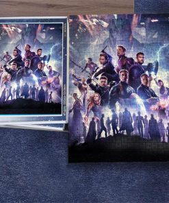 Marvel's avengers infinity war jigsaw puzzle 4