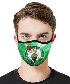 National basketball association boston celtics face mask 2