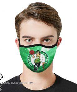 National basketball association boston celtics face mask