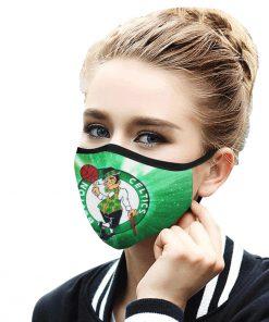 National basketball association boston celtics face mask 4