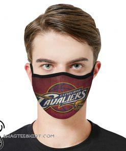 National basketball association cleveland cavaliers face mask