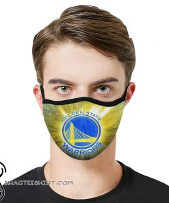 National basketball association golden state warriors face mask