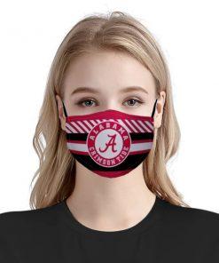 National football league alabama crimson tide face mask 1