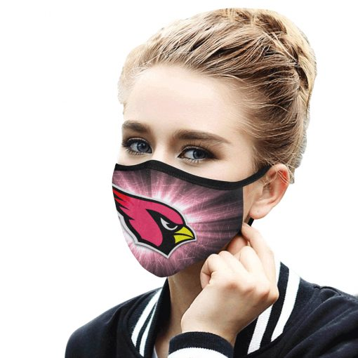 National football league arizona cardinals face mask 4