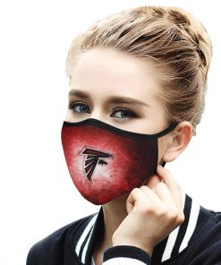 National football league atlanta falcons face mask 1