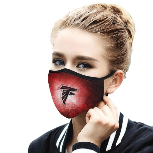 National football league atlanta falcons face mask 2