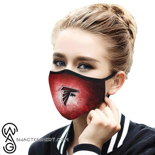 National football league atlanta falcons face mask