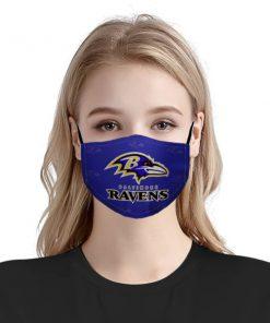 National football league baltimore ravens face mask 1