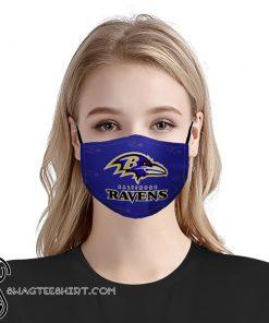 National football league baltimore ravens face mask