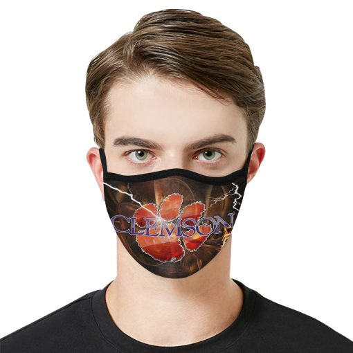 National football league clemson tigers face mask 1
