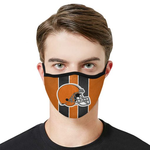 National football league cleveland browns face mask 1