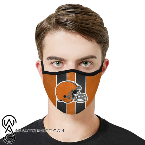 National football league cleveland browns face mask