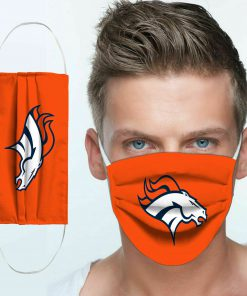 National football league denver broncos cotton face mask 4