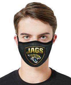 National football league jacksonville jaguars face mask 2