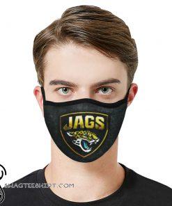 National football league jacksonville jaguars face mask