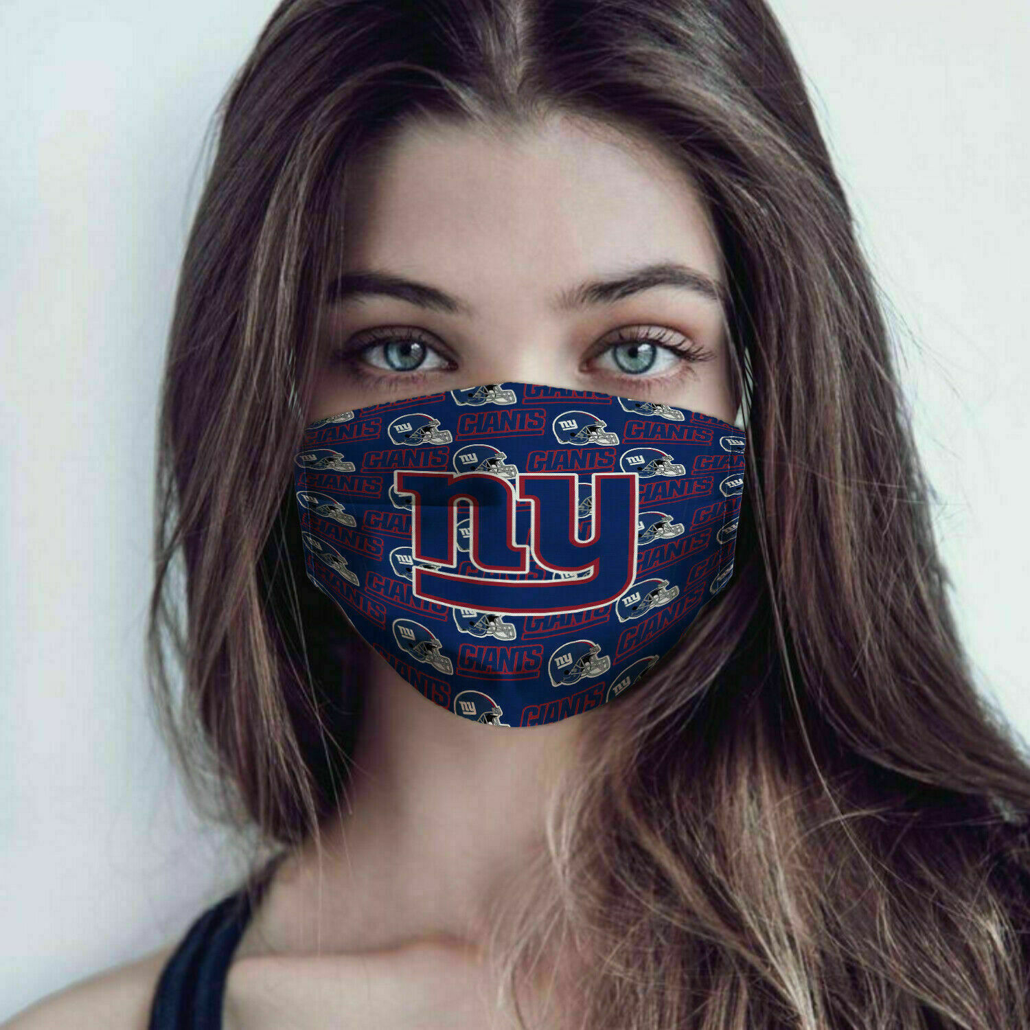 National football league new york giants cotton face mask 4