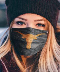 National football league texas longhorns football team cotton face mask 2