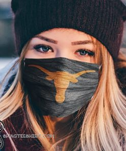 National football league texas longhorns football team cotton face mask