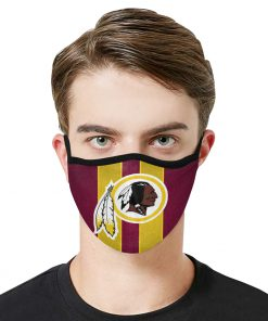 National football league washington redskins team cotton face mask 2