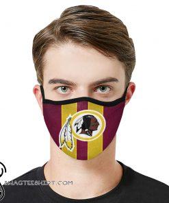 National football league washington redskins team cotton face mask