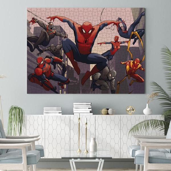 Spider-man into the spider-verse jigsaw puzzle 2