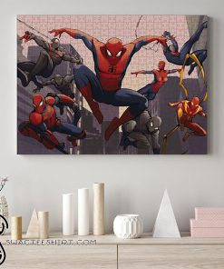 Spider-man into the spider-verse jigsaw puzzle