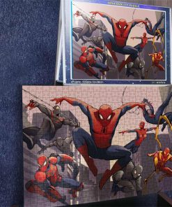 Spider-man into the spider-verse jigsaw puzzle 3